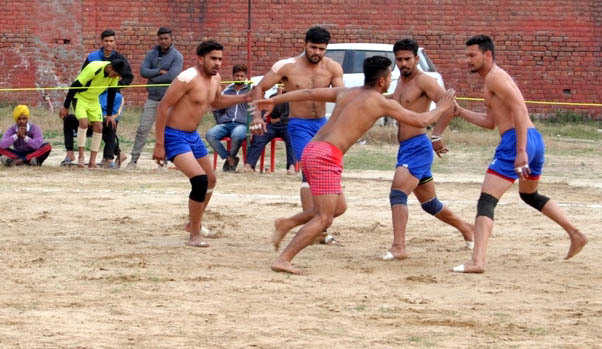 Three-day inter-college kabaddi tourney begins