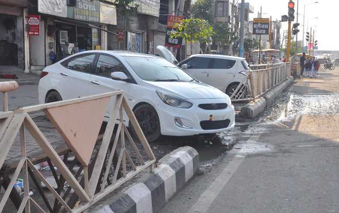 Admn to take action for damage to BRTS lane grills