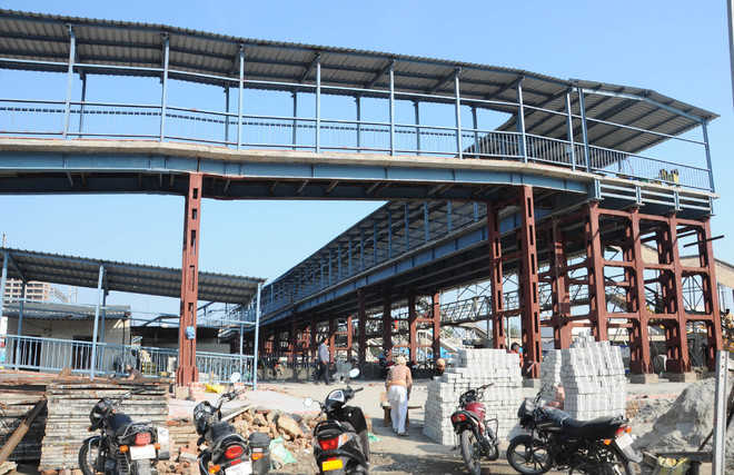 New FOB at rly station to open on Feb 18