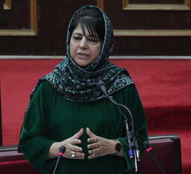 Govt working to facilitate industry, says Mehbooba