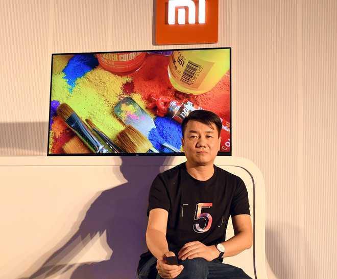 "Xiaomi unveils 55"" LED TV at Rs 39,999, new smartphones"