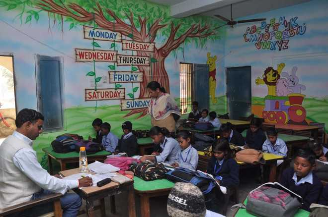 Wall Paintings To Serve As Teaching Aids In Govt Primary Schools