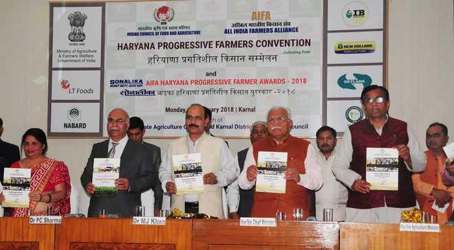 CM launches farm council in Karnal
