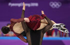 Tessa Virtue and Scott Moir of Canada compete in figure skating. Reuters