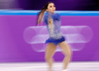 Gabrielle Daleman of Canada in action in figure skating. Reuters