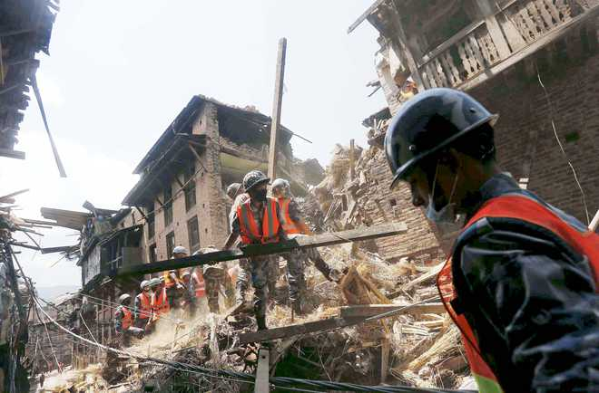 India, UN agencies agree to rebuild 50,000 houses in Nepal