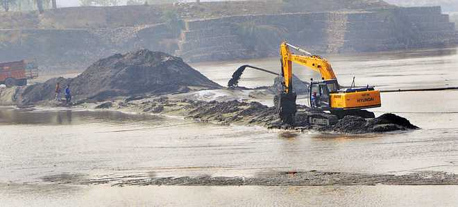 Illegal mining gets legal tag, windfall at state's cost