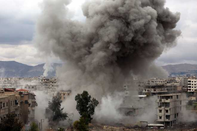 Syria war has killed more than 350,000 in 7 years: Monitor