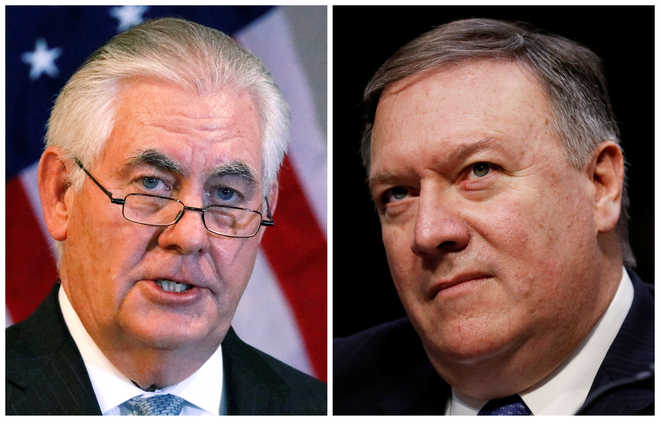 Trump sacks Tillerson; replaces him with CIA chief Mike Pompeo