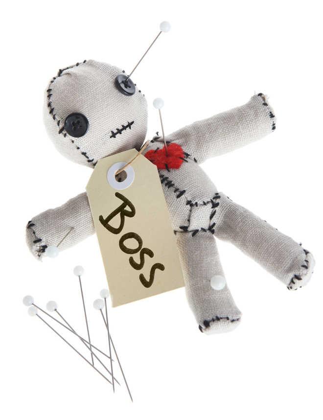 Stabbing voodoo dolls of bosses may boost staff morale