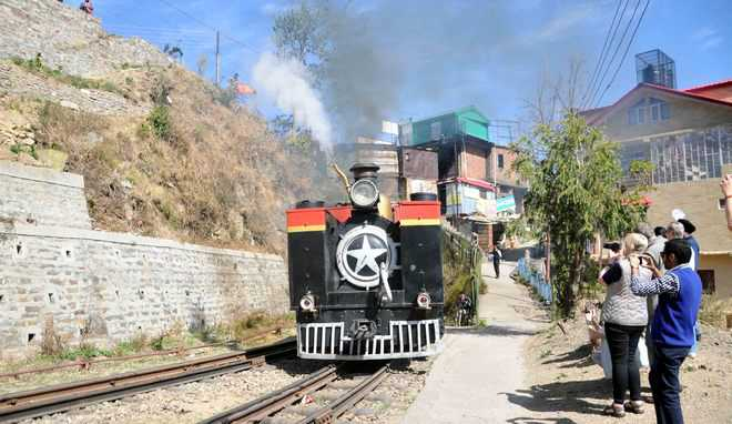 Steam engine causes forest fire, villagers enraged
