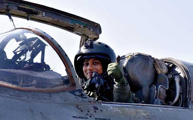 Maiden solo sortie by IAF first woman combat pilot