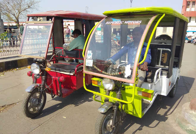 E-rickshaws become public-friendly mode of transport in the city