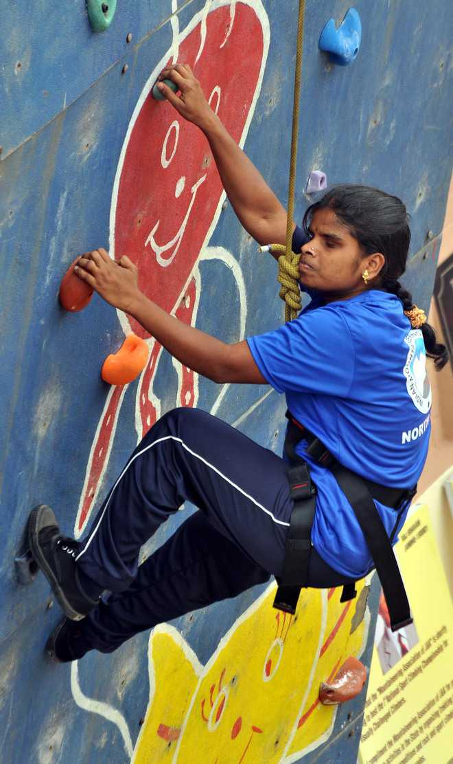 Climbing meet: Passion triumphs over disability