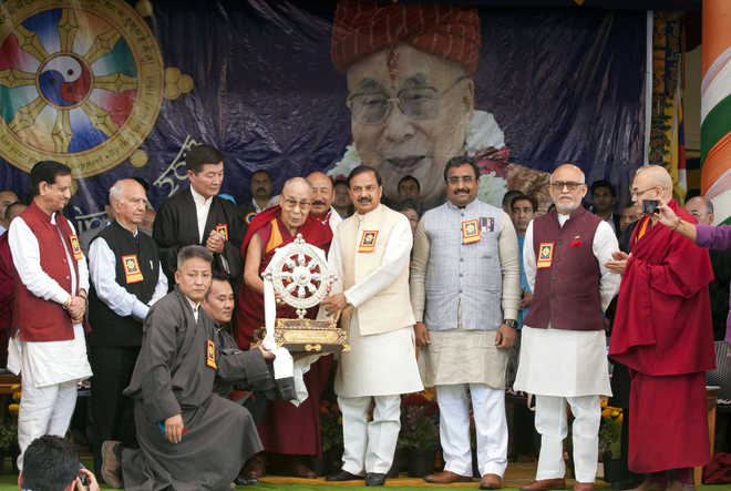 BJP leaders attend Tibetans' 'Thank You India' event at Dharamsala