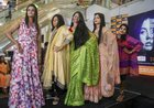 Acid attack survivors walk the ramp during a fashion show on the eve of International Women's Day, in Thane, on March 7. PTI