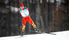 Haitao Du of China competes in the standing men's 20km free cross-country skiing at the Alpensia Biathlon Centre during the Pyeongchang 2018 Winter Paralympic Games in Pyeongchang on March 12. AFP