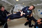 In this file photo taken on April 26, 2007, and released by Zero G, British cosmologist Stephen Hawking experiences zero gravity during a flight over the Atlantic Ocean. AFP photo