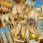 Why I still buy travel postcards