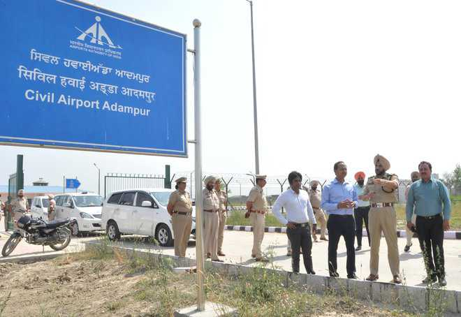 Flights from Adampur to start on May 1