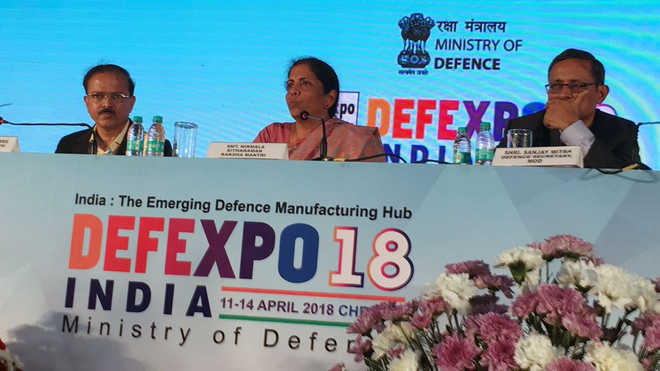 Armed forces free to choose Indian or foreign equipment: Sitharaman