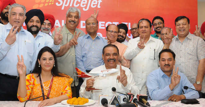 Private carrier Spice Jet launches Adampur-Delhi flight
