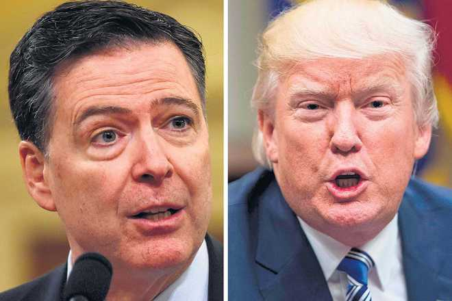 Trump morally unfit to be Prez: Ex-FBI chief Comey