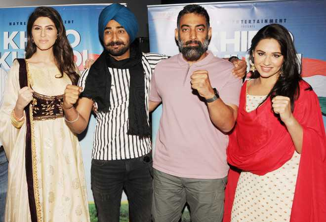 'Khido Khundi' team in city