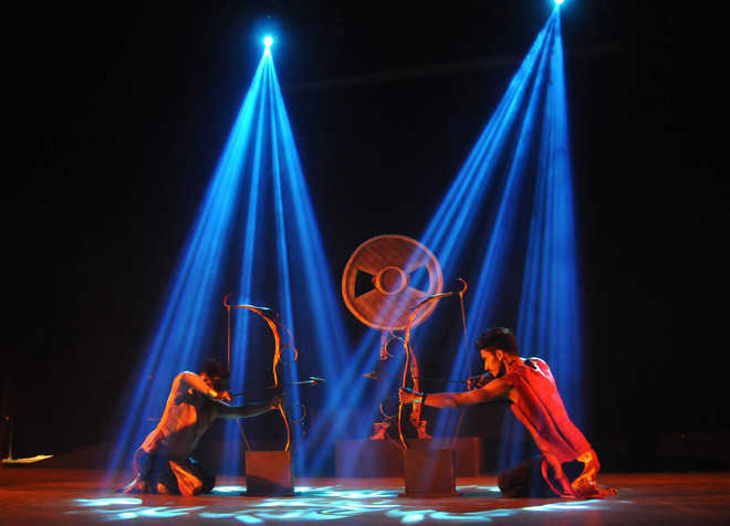 Dance drama mesmerises audience
