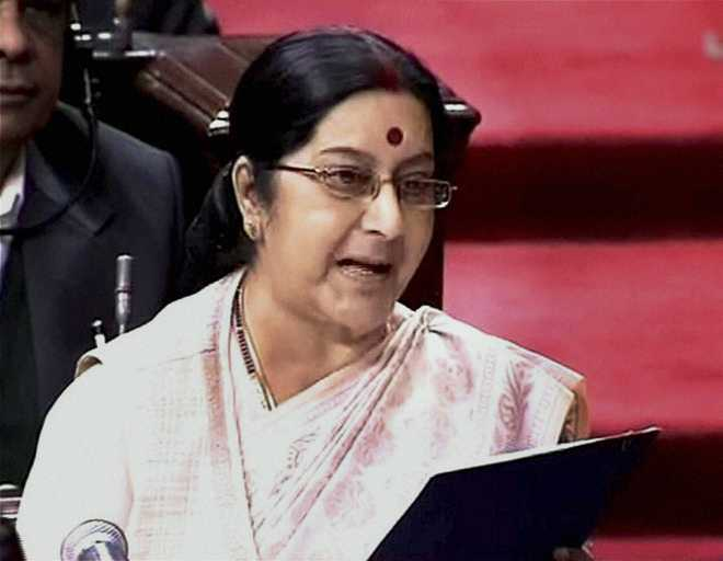 External Affairs Minister Sushma Swaraj to visit China later this week