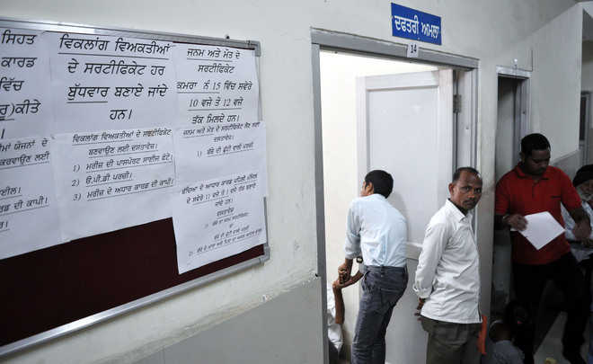 Time less, but visitors aplenty to get birth, death certificates