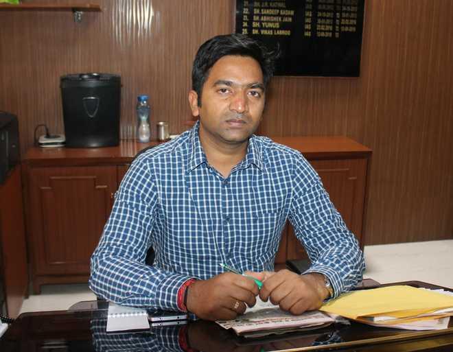 Rakesh Prajapati takes charge as DC