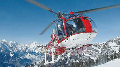 Heli-ambulance to cover entire state round the clock