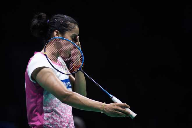 Tai too good for Saina, Prannoy fights hard but loses to Chen