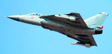 BVR missile test-fired from Tejas