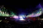 A general view of the Commonwealth Games closing ceremony on April 15. Reuters
