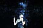 Singer Dami Im performs during the closing ceremony. Reuters