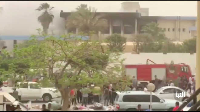 IS suicide bombers storm HQ of Libya''s election commission, 12 dead
