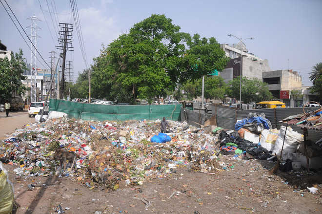 No respite from garbage stench near Aarti Chowk