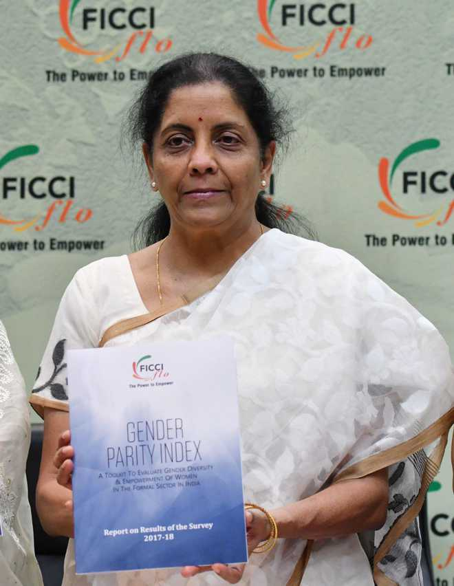 Working 'seriously' to have women in combat roles: Sitharaman