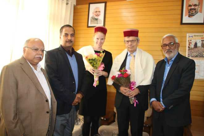 Team from Norway visits BJP HQs