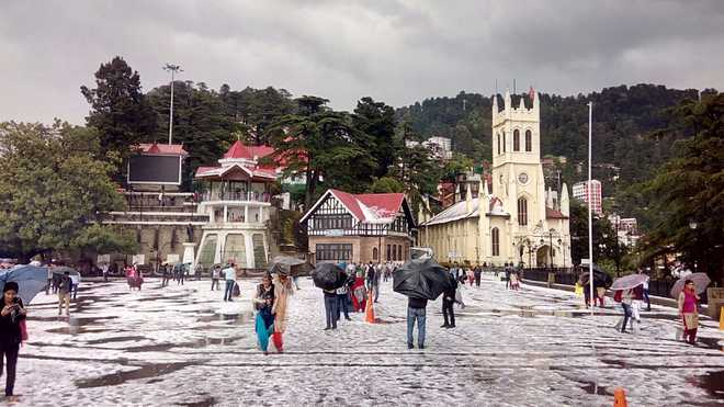 Shimla hit by heavy hailstorm; Chandigarh, Haryana, Delhi on alert