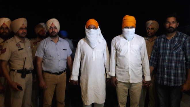 2 members of terror module arrested, two pistols seized