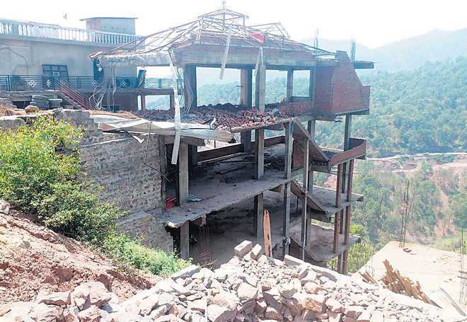 Blanket ban on new constructions in Kasauli