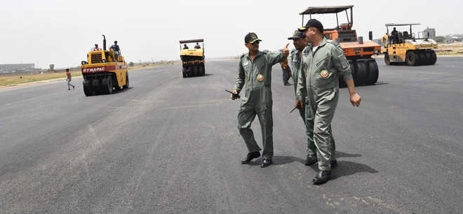 Brief closure of runway doubled upgrade cost