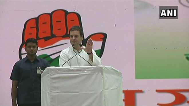 Constitution in country under severe attack, says Rahul Gandhi