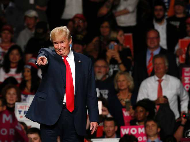 'Trump earned income from real estate ventures in India in 2016'