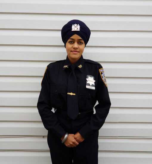NYPD gets first female turbaned Sikh auxiliary police officer