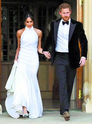 Royal couple back to work after lavish wedding