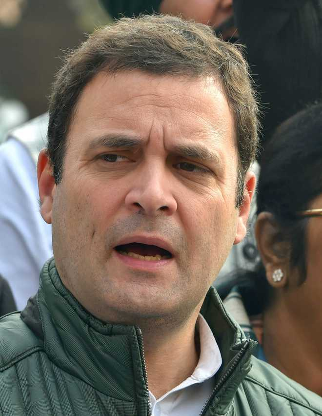 bjp hits back at rahul gandhi over rss remark offers him class 6